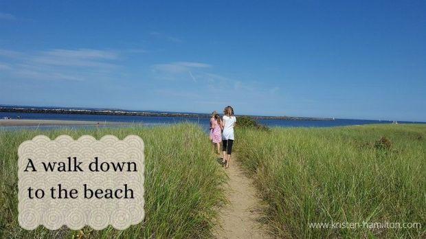 A walk down to the beach